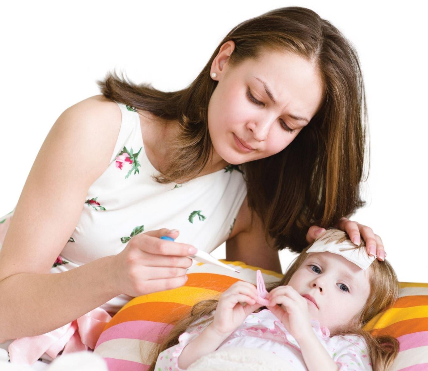 Chia sẻ kinh nghiệm chăm con bị sốt mà các Mẹ có thể chưa biết?