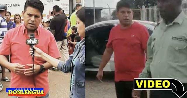 ABUSADOR | Director de una alcaldía chavista amenazó a unos policías en una alcabala