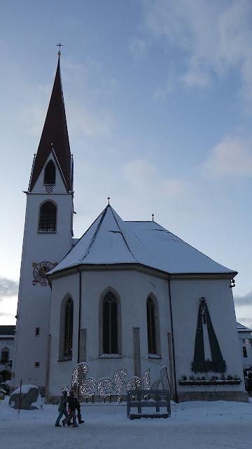 Wallfahrtskirche St.Oswald - Seefeld in Tirol
