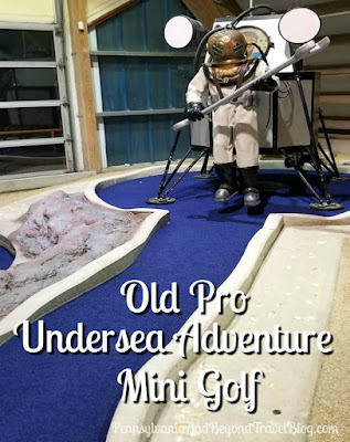 Old Pro Undersea Adventure Mini Golf in Ocean City Maryland