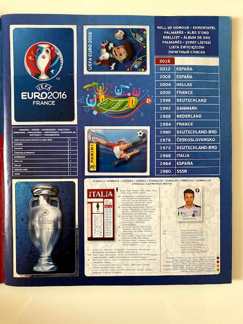 Euro 2016 Panini intro
