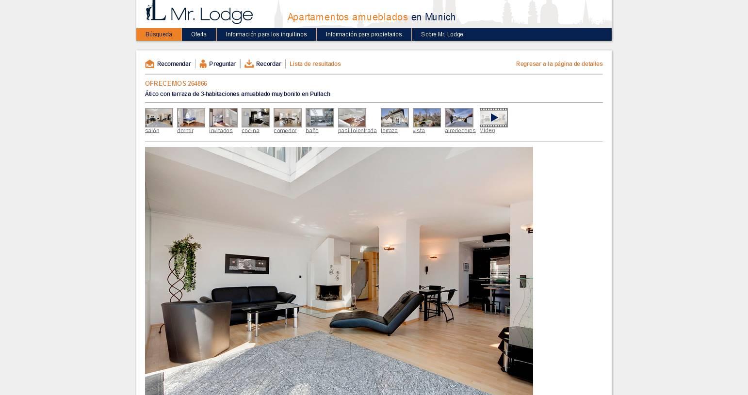 gro z gige 3 zimmer wohnung mit dachterrasse und kamin 81476. Black Bedroom Furniture Sets. Home Design Ideas
