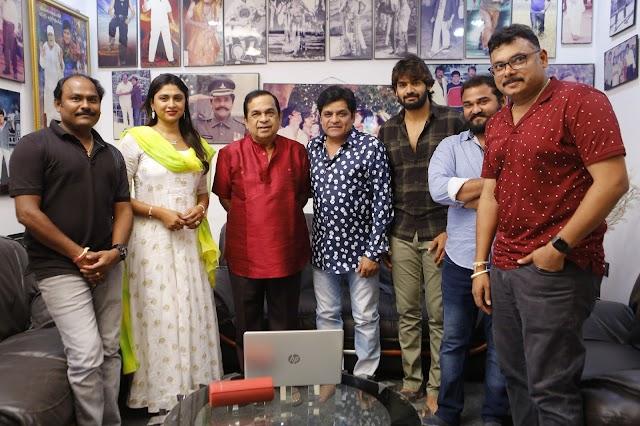 Brahmanandam, Ali Jointly Released Guna 369 Movie Song