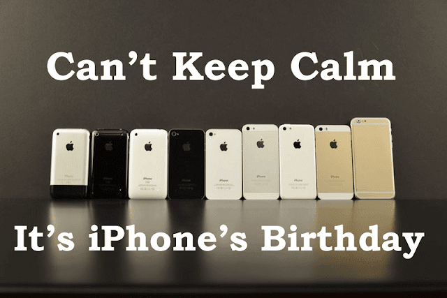 iPhone 10th Birthday by GadgetsCircle.com