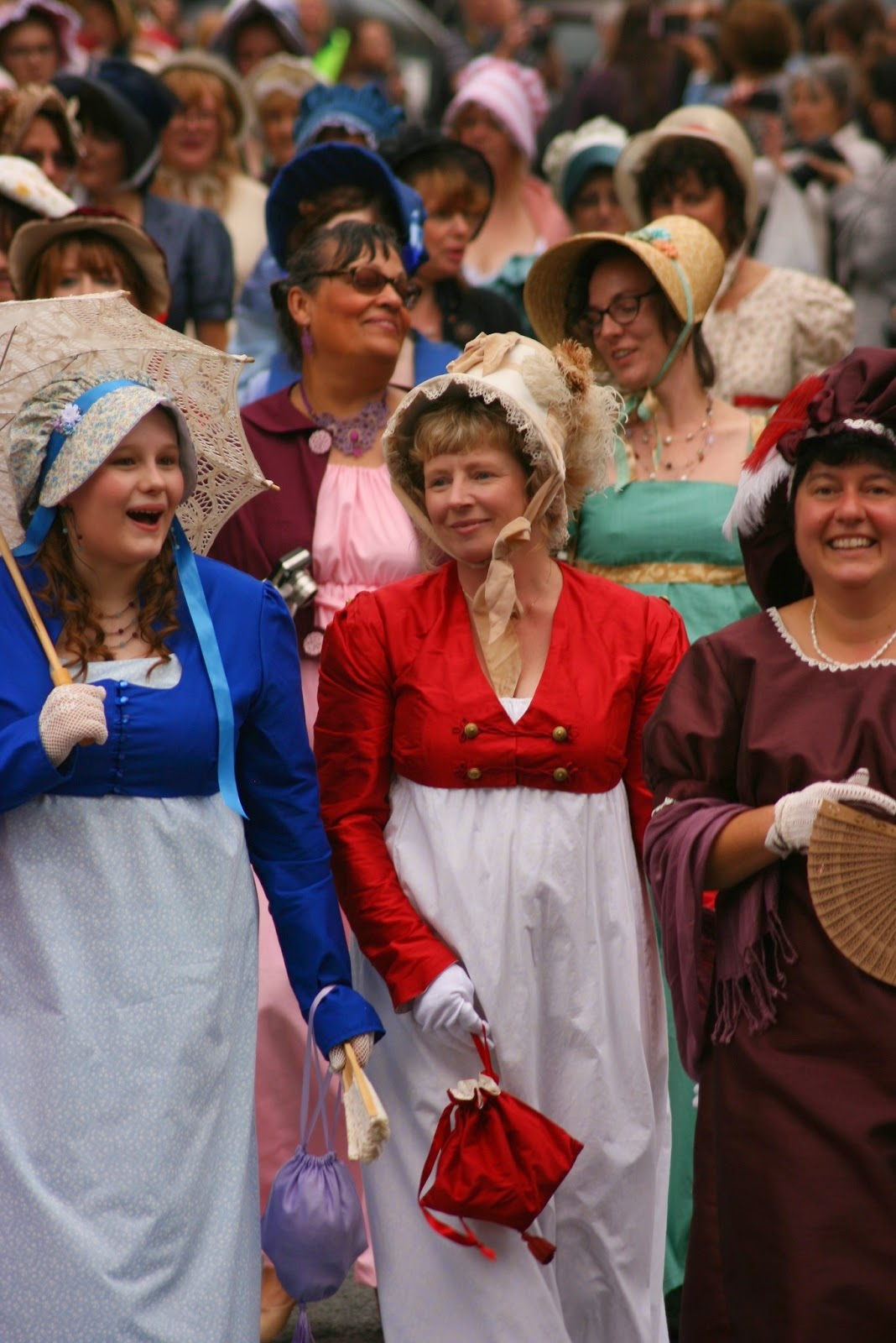 The Jane Austen Festival Promenade  Photo © Stephen Knowles