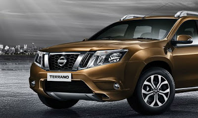2016 Nissan Terrano AMT close up shot