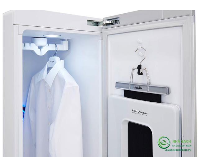 Máy giặt hấp sấy LG Styler S3RER - Công nghệ đỉnh cao