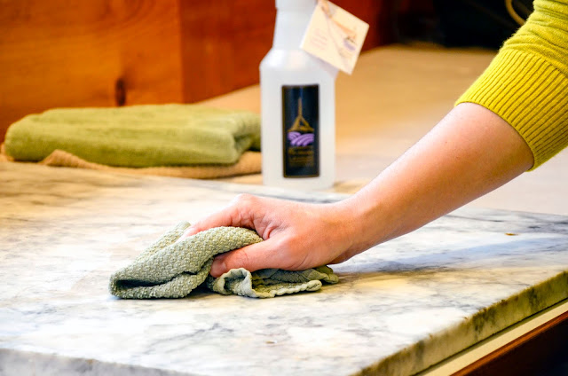 Non-Toxic Home Cleaning with Lavender (Of Course!) - Organic Lavender Hydrosol
