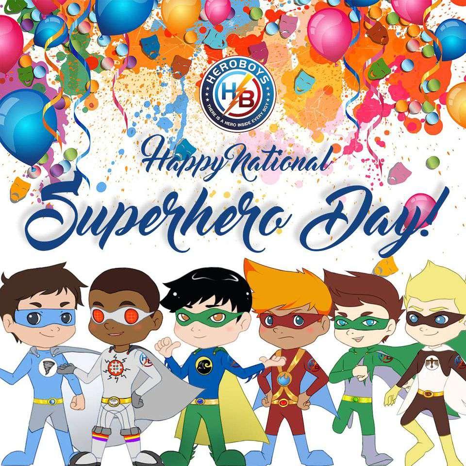 National Superhero Day Wishes