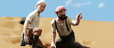 Screen Shot Of Hollywood Movie Tintin (2011) In Hindi English Full Movie Free Download And Watch Online at worldofree.co