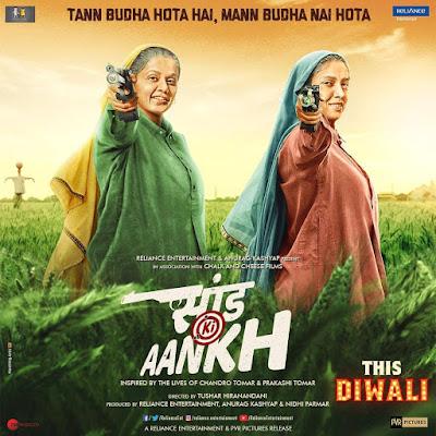 Saand Ki Aankh Bollywood Movie (2019) Camrip,480p,720p Download