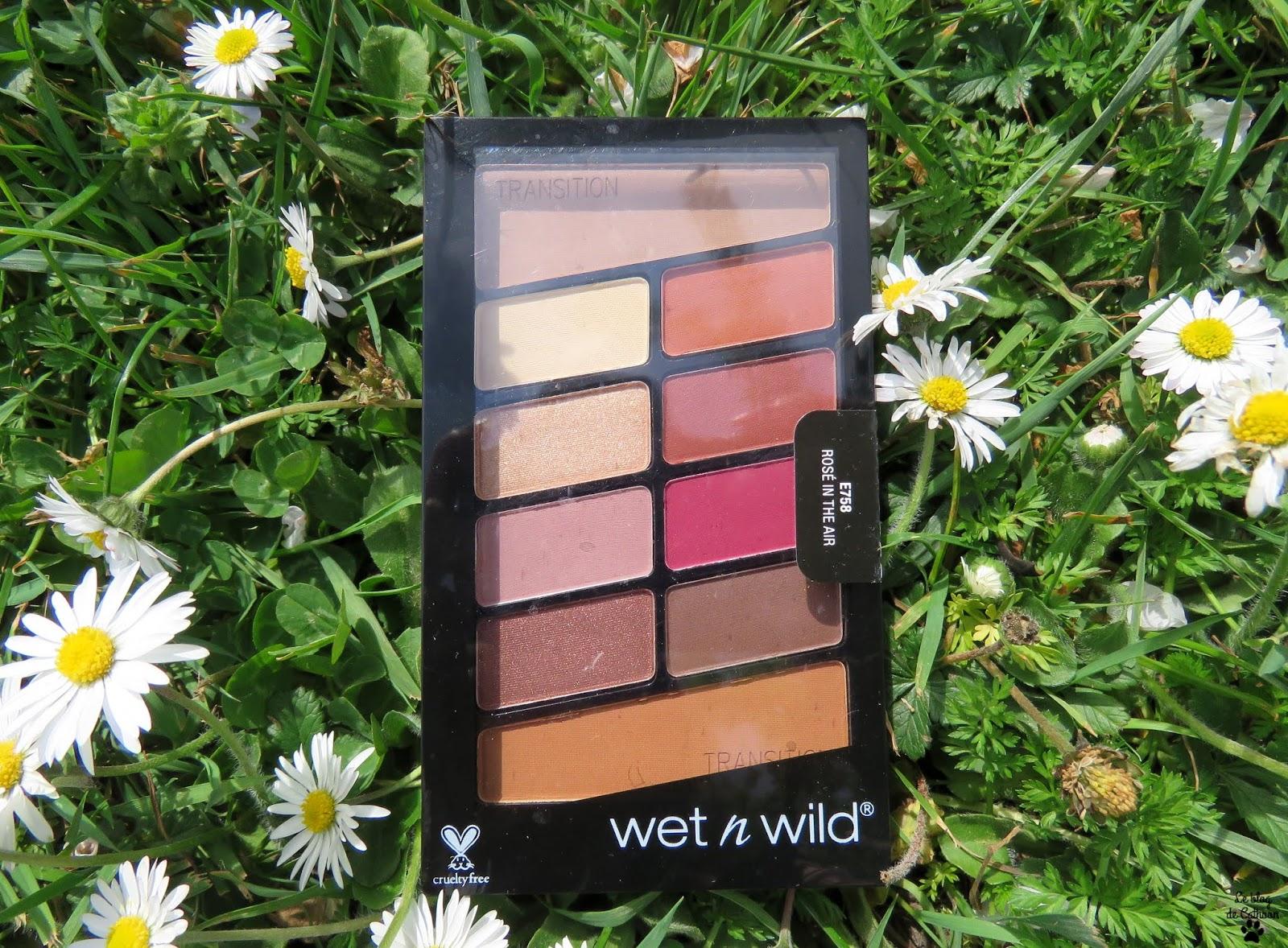 Rosé in the air - Palette de Fards à Paupières - Wet n Wild