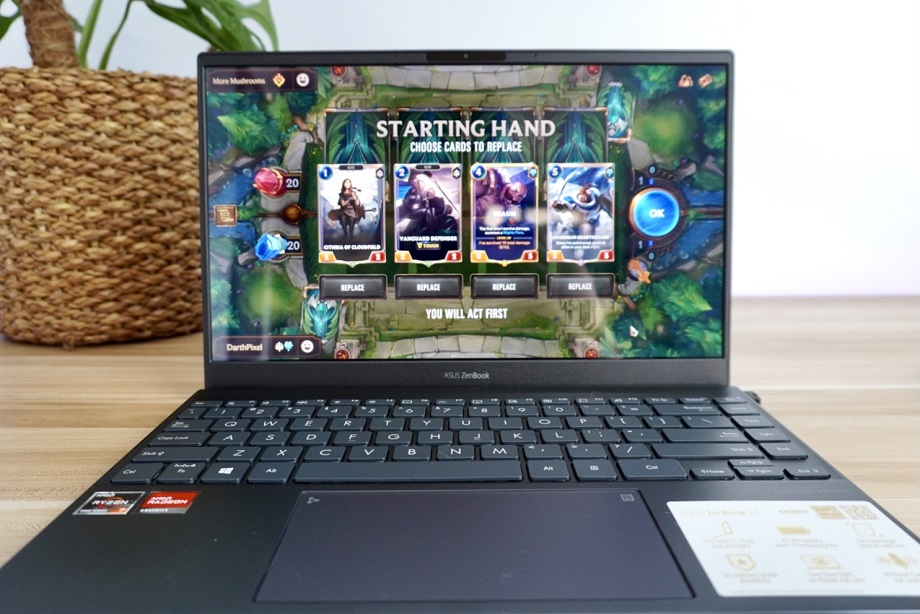 ASUS Zenbook 13 OLED UM325 Gaming Review