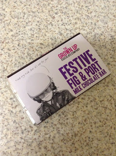 Grown Up Chocolate Company Festive Fig & Port Milk Chocolate