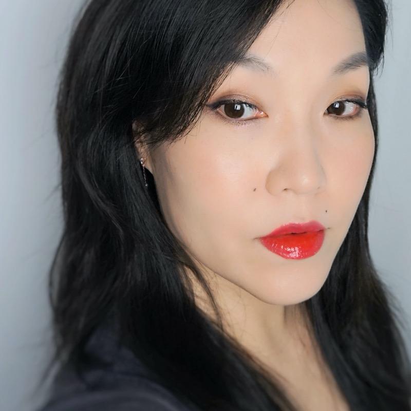 YSL Water Stain 602 Vague de Rouge makeup look