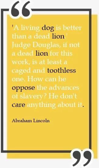 abraham lincoln sayings