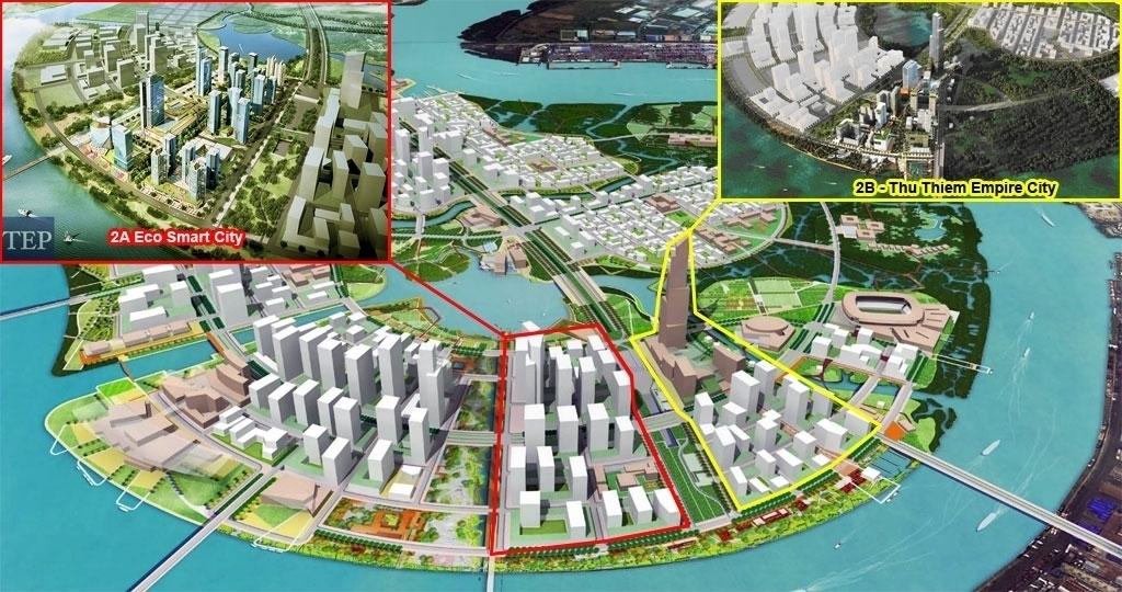 vị trí eco smart city thủ thiêm