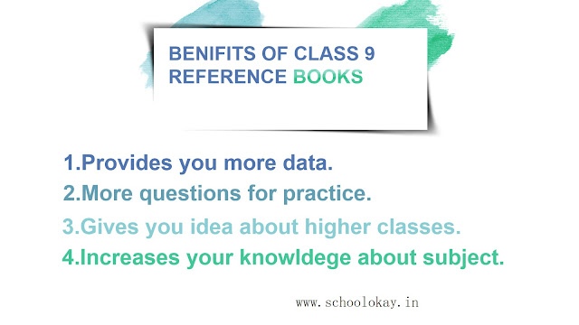 Benefits of class 9th reference books