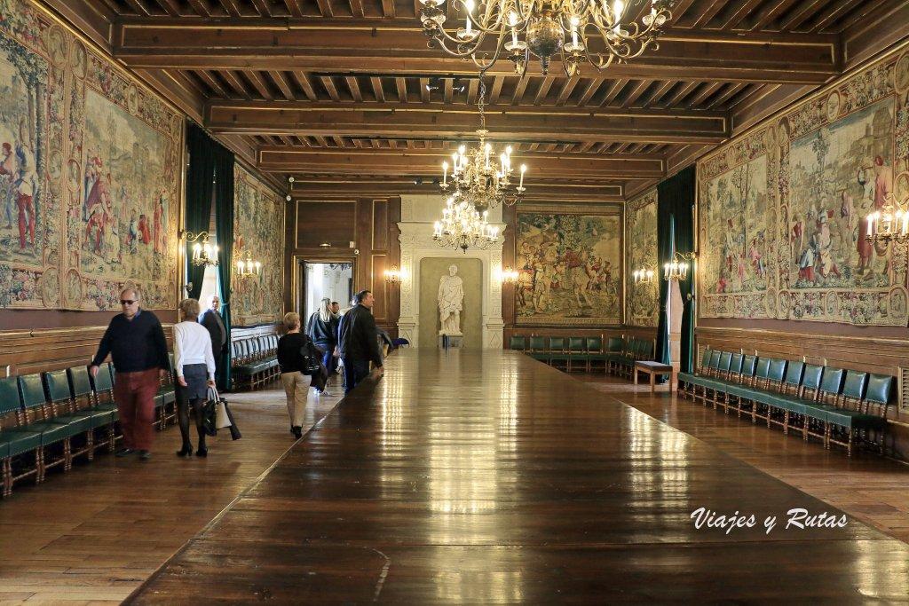 Sala de los Cien Cubiertos, Palacio de Pau, Francia