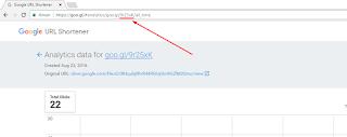 Cara Melihat URL/Link Asli Dibalik Goo.gl