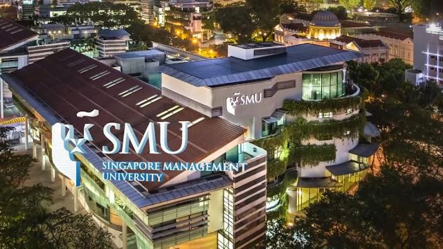 منحة مقدمة من جامعة سنغافورة للإدراة SMU  لدراسة البكالوريوس(ممولة بالكامل )