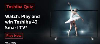 Amazon The Ultimate Toshiba Quiz