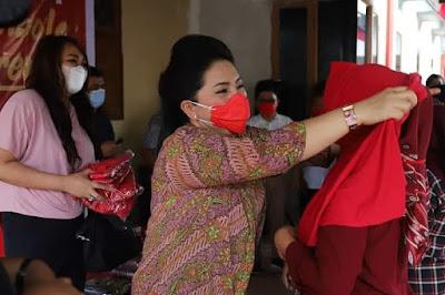 Ibu Rita dan Ibu Devi Komit Tekan Penyebaran Covid - 19 di Bolmong Raya