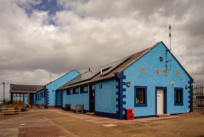 Photo of Maryport Marina's new colour scheme