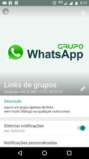 Links de Grupos - Grupo de WhatsApp