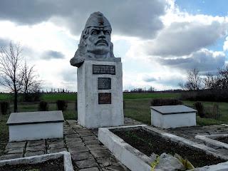 Червоний Яр, Покровський р-н. Донецька обл. Братська могила