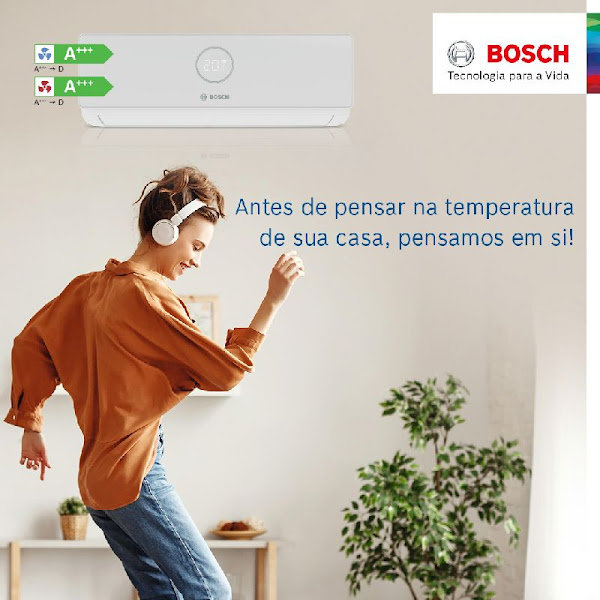 Bosch lança nova gama de Ar Condicionado Climate