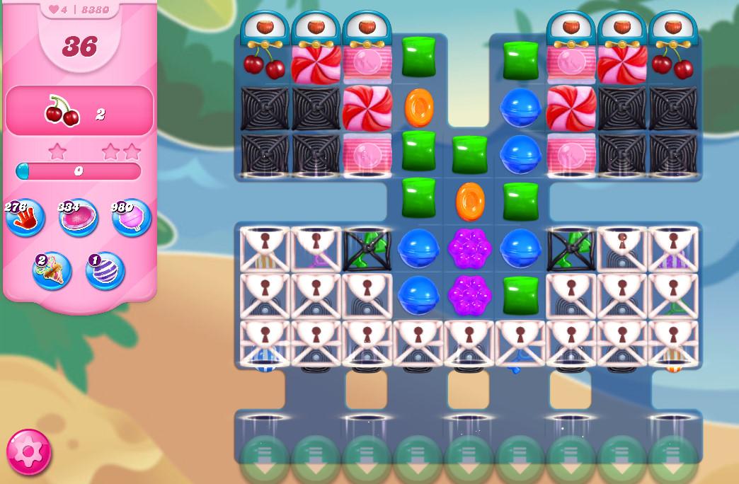Candy Crush Saga level 8380