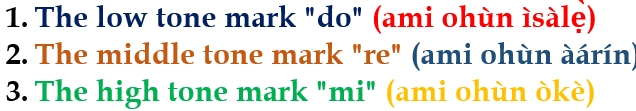 Yorùbá Tone Marking and Its Usage