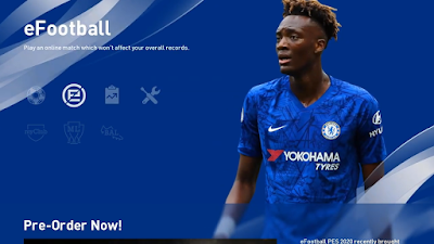PES 2020 Chelsea FC Menu Mod by Hawke
