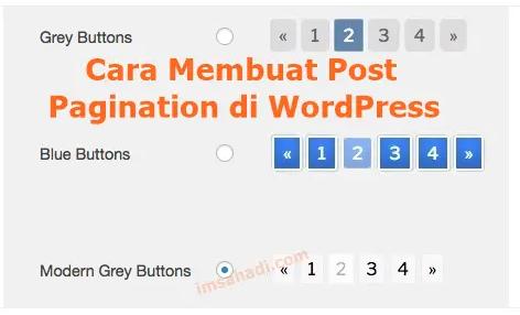 Cara Membuat Pagination di WordPress