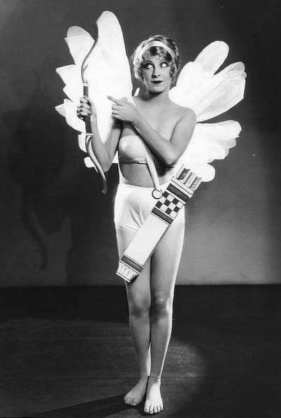 Delores Brinkman as Cupid