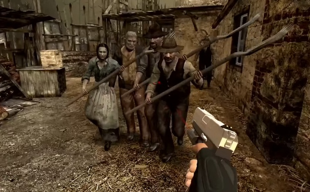 first details about the Resident Evil 4 VR version