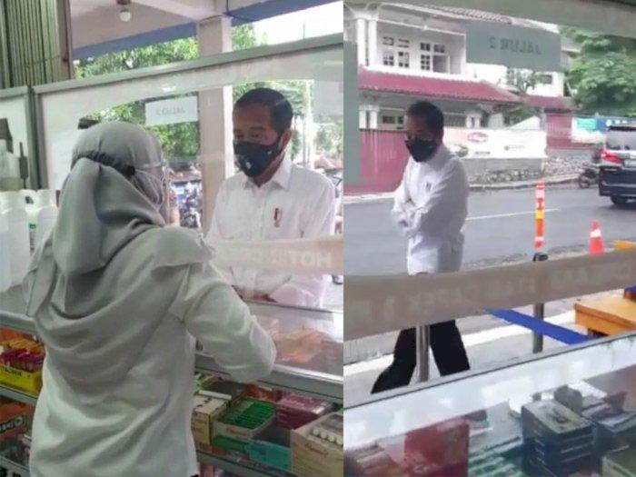 Sidak ke Apotek Cari Obat Antivirus Tapi Stoknya Kosong, Jokowi: Terus Saya Harus Cari ke Mana Ini?