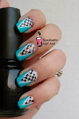 How to make decal with stamping nail art