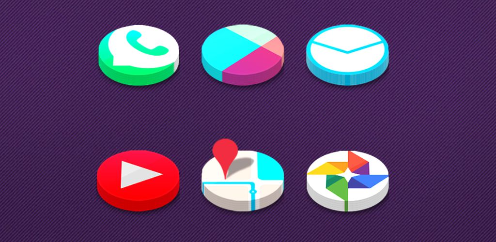 icon pack android 3d icon pack to go launcher action launcher nova