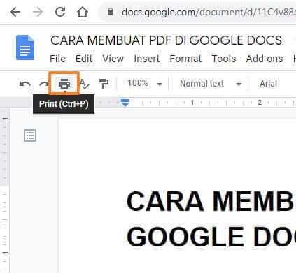 cara mengubah google form ke pdf