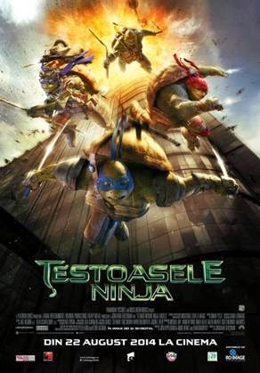 Teenage Mutant Ninja Turtles 3D (2014) - Ţestoasele Ninja