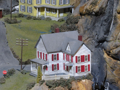 Northlandz model railroad country corner