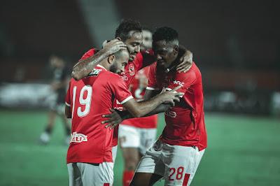 ملخص واهداف مباراة الاهلي وانبي (3-0) الدوري المصري