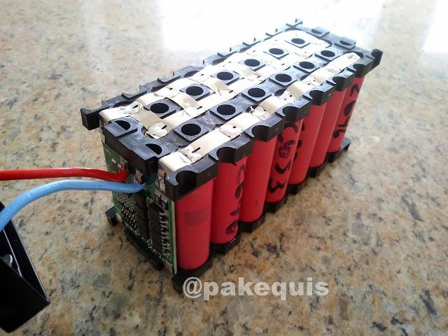 Pack de baterias 18650