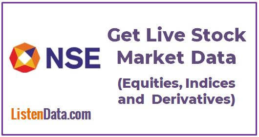 Live Indian Stock Market Data
