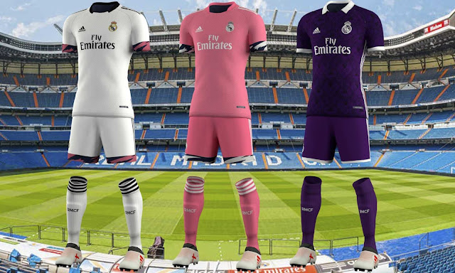 Real Madrid Kits Concept For PES 2020 by EPX76