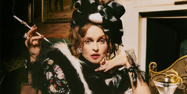town & country magazine, Helena Bonham Carter, Mystic Magic, fashion, style, couture, designer, famous, movie star, celebrity, feature, news, the crown, netflix, princess margaret