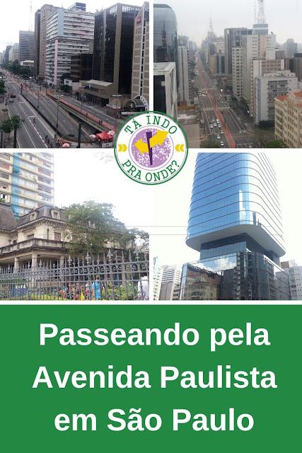 Passeando pela Avenida Paulista em São Paulo