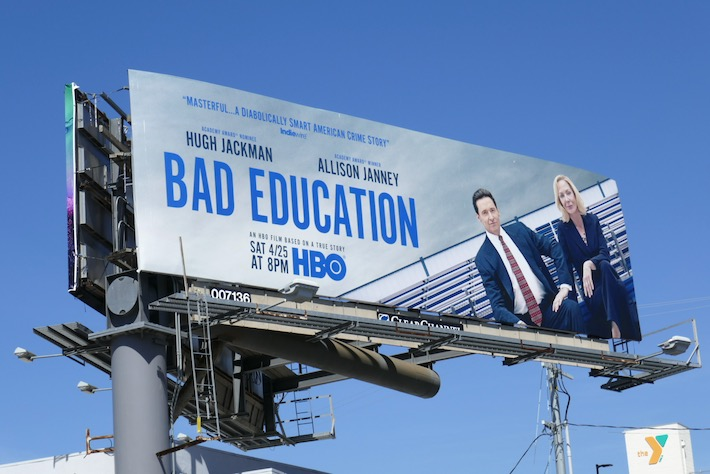 Bad Education HBO movie billboard